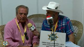 Entrevísta al Presidente  de las Carreras de caballos D.Rafael  Hidalgo 2018