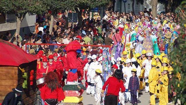 Carnaval Cabalgata Chipiona 1991