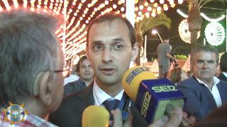 Entrevista con el Alcalde Sr. Víctor  Mora Feria 2017