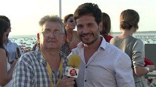 Entrevísta con David DeMaría en las Carreras de Caballo 2015