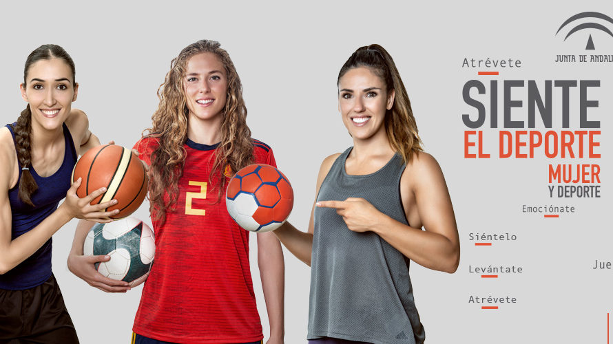 Junta de Andalucía Mujer y Deporte