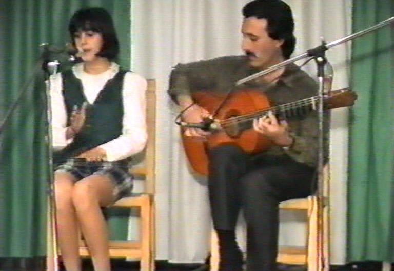 Festival flamenco en Bda Andalucía 1995