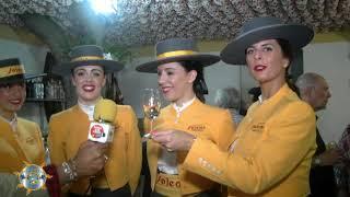 Entrevísta en la Fería de la Manzanílla 2018 Las Chicas de Bodegas Barbadillos en la Fería de la Manzanílla 2018