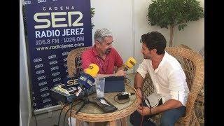 Entrevista  a David Demaria en las Carreras de Caballo de Sanlúcar