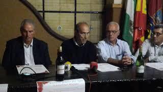 Presentación Programas y entrevístas de la  del concurso de ajo XXII en Bda Faustíno Miguez 2014