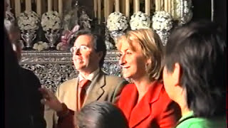 Ofrenda de Flores de la Alcaldesa Laura Seco a la Cañita 2006