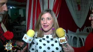 Entrevísta Irene García Presidenta Diputación Cadíz en la Fería de la Manzanilla 2018