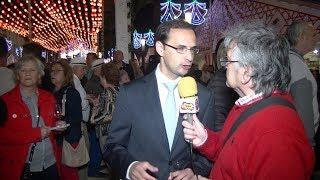 Entrevista a D. Victor Mora Alcalde de Sanlúcar en la Feria de la Manzanilla 2018