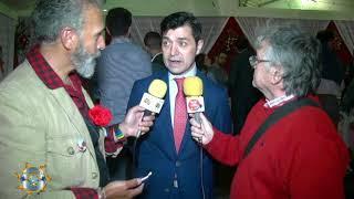Entrevísta a  Juan Oliveros Consejal de Sanlúcar Primer Teniente de Alcalde en la   Fería de la Manzanílla 2018