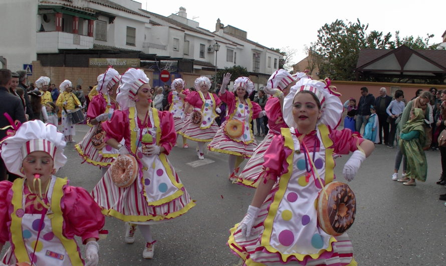 Cabalgata de Carnaval 2020 en Sanlúcar de Bda