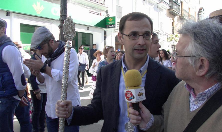 Entrevísta al Alcalde de Sanlúcar D.Víctor Mora Rocio 2018