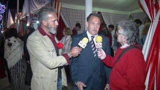 Entrevísta a  Jesús Villegas Delegado de Comercio y Deportes en la Fería de la Manzanilla 2018