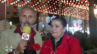 Entrevísta a Carlota componente del Duo Las Carlotas en la Fería de la Manzanilla 2018