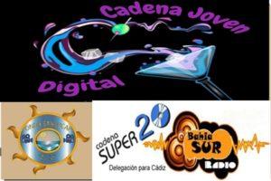 Visita Onda Sanlúcar y Bahía Sur Rádio En Cadena Joven Digital