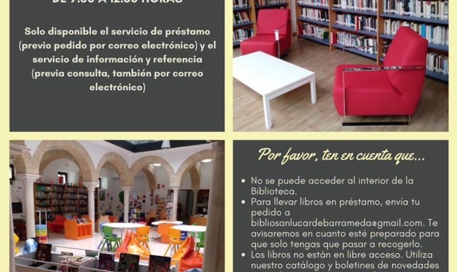 LA BIBLIOTECA MUNICIPAL, ABIERTA PARA EL PRÉSTAMO Y DEVOLUCIÓN BAJO CITA PREVIA