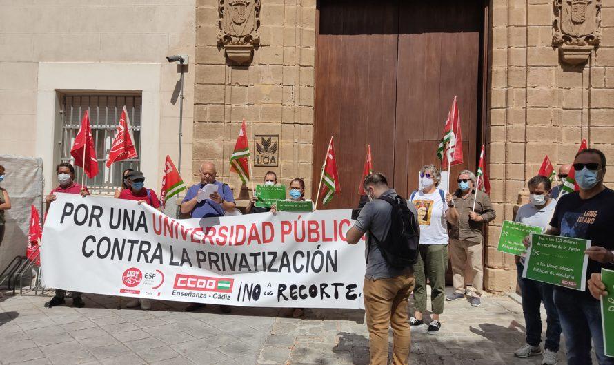 LOS RECORTES DE LA JUNTA SUPONEN UN 14,8% DEL PRESUPUESTO NOMINATIVO DE LA UCA