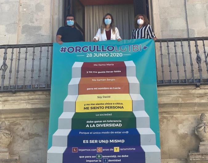 EL AYUNTAMIENTO SE SUMA A LA CELEBRACIÓN DEL ORGULLO LGTBI+