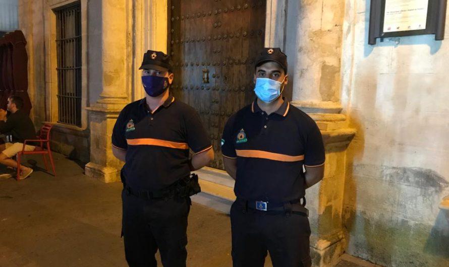 LA POLICÍA LOCAL PONE EN EL FIN DE SEMANA 21 SANCIONES POR NO LLEVAR MASCARILLAS
