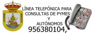 EL AYUNTAMIENTO HABILITA UNA LÍNEA TELEFÓNICA PARA CONSULTAS DE PYMES Y AUTÓNOMOS DE LA CIUDAD