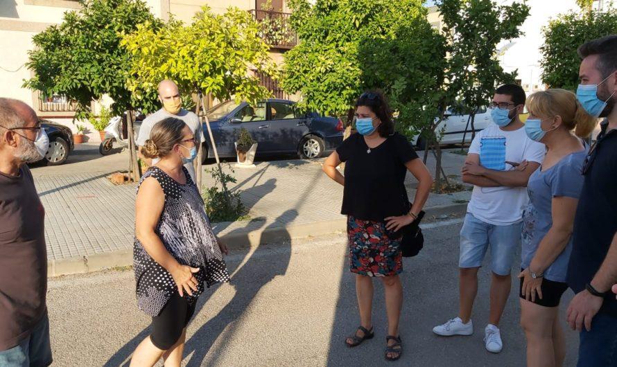 IU exige una actuación inmediata en la red de saneamiento de la zona de la ermita situada en la calle Sevilla