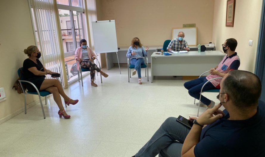 PRIMERA REUNIÓN PRESENCIAL CON LAS ASOCIACIONES DE EMPRESARIOS TRAS EL ESTADO DE ALARMA