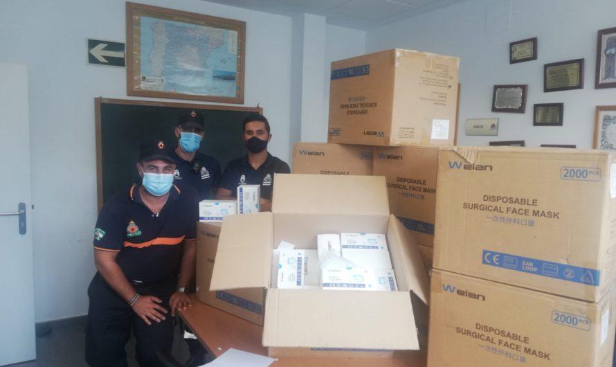 EL AYUNTAMIENTO RECIBE DEL GOBIERNO 17.000 MASCARILLAS