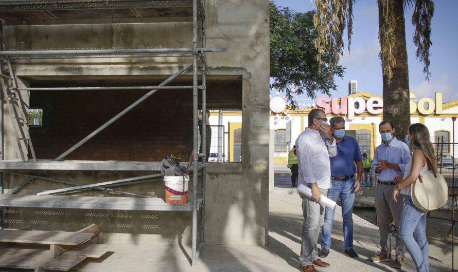 LA CONSTRUCCIÓN DEL QUIOSCO-BAR, OTRO EQUIPAMIENTO MÁS PARA LA 'CIUDAD DE LOS NIÑOS'