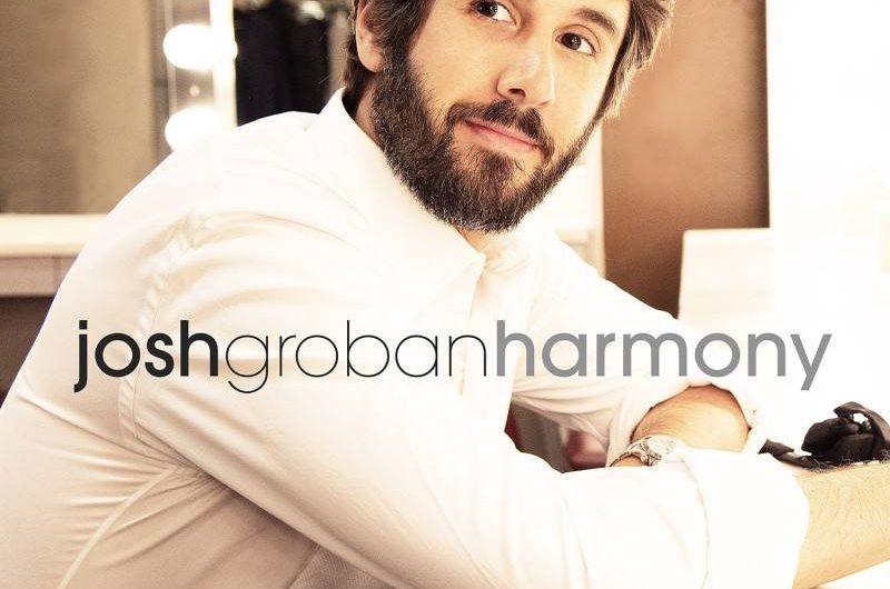 Josh Groban anuncia su próximo disco, 'Harmony'