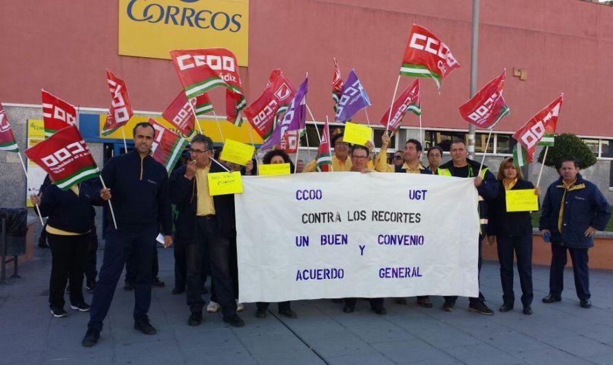 CCOO denuncian el recorte de plantilla en las Unidades de Reparto de las localidades más importantes del Campo de Gibraltar