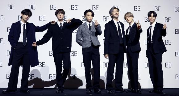 """BTS envía un mensaje esperanzador a sus fans en su nuevo álbum """"BE"""""""