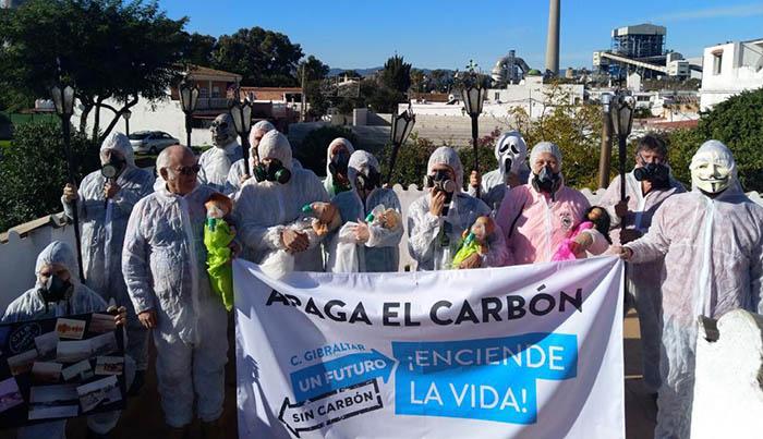 ENDESA se sitúa lejos de la descarbonización al sustituir el parque de carbones por una planta de gas natural en Los Barrios