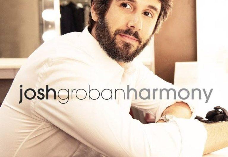 Josh Groban publica su nuevo álbum de estudio, 'Harmony'