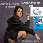 Tú Eliges con Entrevísta a Carla Meyer en Radio  Pleamar Jueves 11 Marzo 11 Noche
