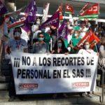El personal del SAS respalda una nueva semana de movilizaciones contra el despido de 8.000 trabajadores